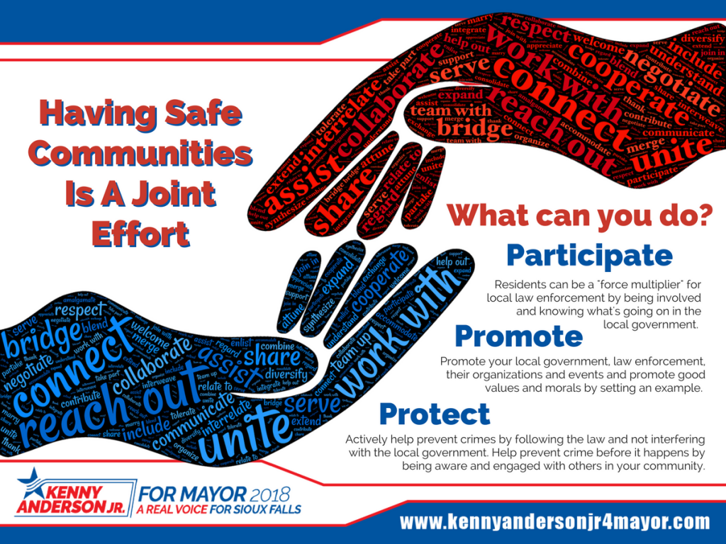 Safer Communities are a Joint Effort